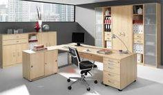 Bildergebnis für einrichtung ahorn Office Desk, Corner Desk, Container, Furniture, Home Decor, Desks, Writing, Searching, Corner Table