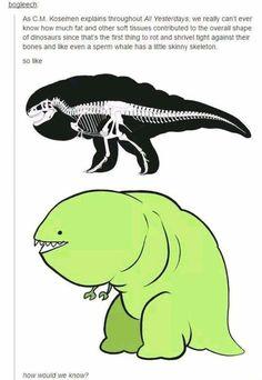 Dinosaurs were far out, man:
