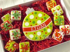 Lizy B: My Favorite Personalized Christmas Cookies