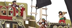 Papo pirate ship - Comaco Toys - Toys Direct Online - Free UK Shipping