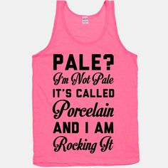 Forever porcelain pale, but not on pink...maybe a green or yellow