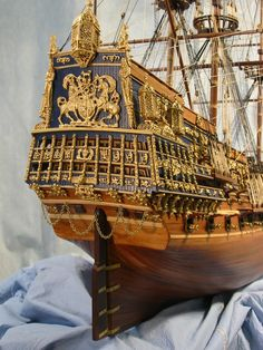 Sovereign of the Seas scale model ship