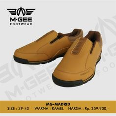 M-GEE Footwear MG-MADRID Camel