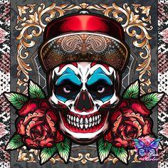 Coloring Apps, Joker, Skull, Fictional Characters, Skeleton, Psalms, Colors, Art, Santa Muerte