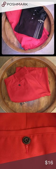 FAIRWAY OUTFITTERS RED GOLF SHORTS FAIRWAY OUTFITTERS RED GOLF SHORTS. In like new condition. Size 38. Fairway Outfitters Shorts