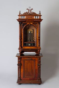 highvictoriana:  Coin operated music box, Germany, c. 1880.