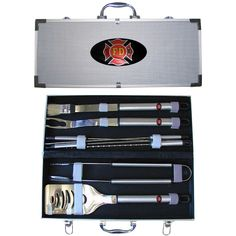 Siskiyou Sports Extreme Firefighter BBQ Set, 8-Piece >>> Read more  at the image link.
