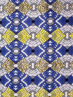 I want to cover a shoe with this fabric! Textile Pattern Design, Textile Patterns, Color Patterns, Print Patterns, Motif Design, African Textiles, African Fabric, African Patterns, Motifs Textiles
