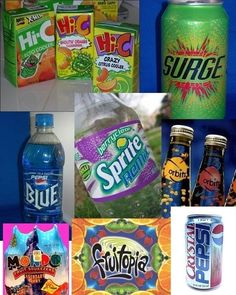 And these drinks too?   38 Ways To Tell If You Had The Best ChildhoodEVER - So reminds me of the 80's, 90's & my kids growing up :)