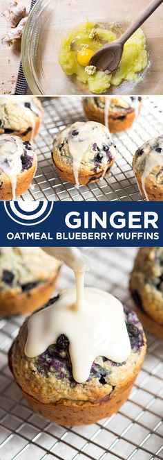 We can't get enough of these muffins — the ginger and vanilla make the batter insanely delicious. From inspiredtaste.net   @inspiredtaste