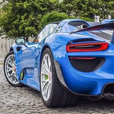 As blue as St. Andrew's Cross. #ItsWhiteNoise #Porsche #Scotland  @porsche918e