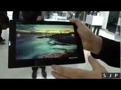 Sony Xperia Z Tablet Hands On