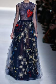 Valentino | Embroidered tulle gown | NET-A-PORTER.COM