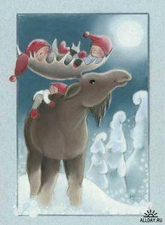 Волшебный народец - Санта Клаус, гномы, ниссе, феи 2