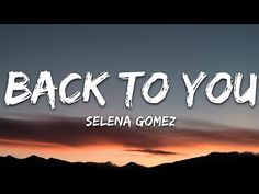 Selena back 2u Trending Music, Top Trending, Selena Gomez Music Videos, Yours Lyrics, Therapy, Love You, Notes, Youtube, Musik