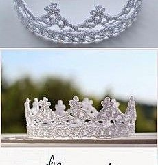 crochet crown – every princess needs at least one is creative inspiration for us. Get more photo about home decor related with by looking at photos gallery at the bottom of this page. We are want to say thanks if you like to share this post to another people via …