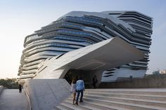 Jockey Club Innovation Tower (JCIT) by Zaha Hadid #freestyle #architecture