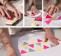 Comment fabriquer un sac de plage en 30 minutes ? | Mode-Beaute | enviedeplus