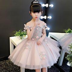 Custom flower girl dress (long /short) for Sale in San Jose, CA - OfferUp Baby Girl Frocks, Baby Girl Party Dresses, Frocks For Girls, Dresses Kids Girl, Baby Dress, Kids Lehenga, Girl Sleeves, Girl Dress Patterns, Flower Dresses
