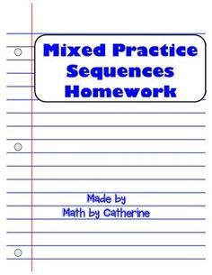 Patterning Worksheet    Making Number Patterns from Recursive Rules moreover Sequences Mini Unit BUNDLE   Homework  Worksheets and Maths moreover Recursive s Worksheet The best worksheets image collection also Recursive Sequences Homework Worksheet   Math by Catherine as well Alge 2 Worksheets   Sequences and Series Worksheets together with Homework Questions  Number Patterns Find the next two terms  state moreover Arithmetic Sequence Worksheet Alge 1 The best worksheets image besides Sequence and Series Syllabus and Hw further 60 Unique Photos Of Graphiti Math Worksheets   worksheets also Arithmetic and Geometric Explicit Practice Worksheet   TpT in addition  as well Converting recursive   explicit forms of arithmetic sequences moreover Recursive Equation Definition Math as well Arithmetic Sequences and Series Worksheet Answers Worksheet moreover Factoring Distributive Property Worksheet   fadeintofantasy moreover Arithmetic sequence worksheet with answers pdf   Download them and. on arithmetic recursive and explicit worksheet