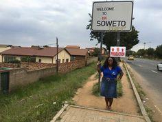 Soror Chaka Donaldson is showing her ZETA pride in Soweto, South Africa! We see you Soror! Enjoy your vacay! smile emoticon #REALZETAS #INTERNATIONALZETAS