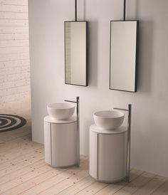 Specchio rettangolare per bagno ARGO - Ceramica Cielo