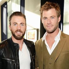 Hot: Chris Evans Wished Chris Hemsworth Happy Birthday with a Hilarious Avengers Blooper
