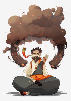 Sword of Burning Ash by ~Marcks on deviantART