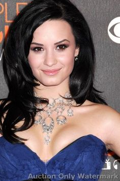 GLOSSY PHOTO PICTURE 8x10 Demi Lovato Face