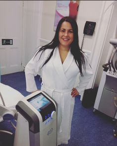 @vickye79 All ready for her @btlaestheticsuk Vanquish Treatment! Such a pleasure to have you in our Clinic! #vanquish #vanquishme #BTLVanquishME #weightloss #summerbody #fatreduction #london #knightsbridge #beauty #beautynews #healthy #motivation #safe #aesethic #aestheticmedicine