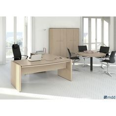 Status Executive Composition Canadian Oak MDD Office Furniture Status Executive Composition Ca