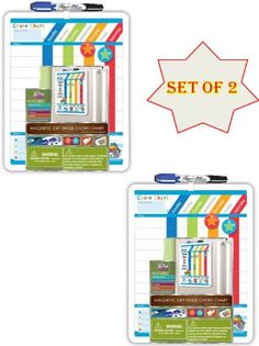 Set of 2 Board Dudes Magnetic Dry Era... (bestseller)