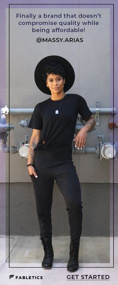 I love what Fabletics stands for. Fitness comes in different shapes, sizes, and styles of training. I love the fact that I can wear these clothes in and out of the gym to fit my on the go lifestyle. Androgynous Fashion, Tomboy Fashion, Fashion Outfits, Fashion Trends, Fashion Killa, Fashion Blogs, Trending Fashion, India Fashion, Fashion Fashion