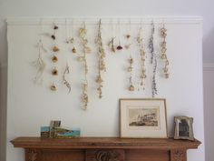 dried flower garlands