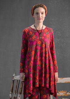 """Elsa"" tunic in modal – New arrivals – GUDRUN SJÖDÉN – Webshop, mail order and boutiques 