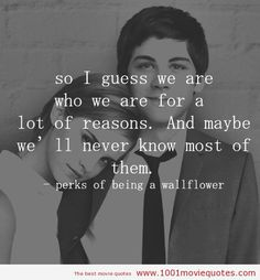 "The Best Love Quotes From ""The Perks of Being a Wallflower"" 