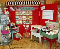 Craft show booth, amazing!