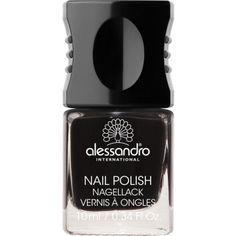 Alessandro 77 Midnight Black. Nagellak voor kunst- en natuurlijke nagels.