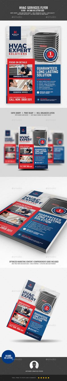 539 Best Service Repair Flyer Template Images Corporate Flyer