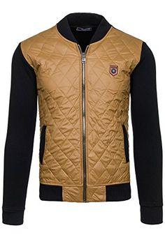 COMEOR 2569-1 Camel Herren Pullover Sweatshirts Herren Strick