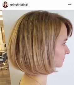 Blonde sombre balayage ombré highlights on short bob by Erin at  Dallas Roberts Salon in West Jordan, Utah #801 #slc #slchair #westjordan #801hair #utah #wella #wellalife #utahstylist #utahsbest #behindthechair #americansalon #hairnerds #modernsalon #hair #bangstyle #kevinmurphy #dallasrobertssalon #drsbalayage