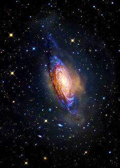 NGC 3521 - Galaxy in a Bubble
