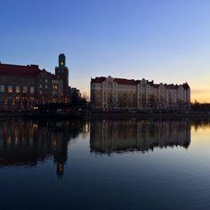Reflection #Hakaniemi #Helsinki #Finland