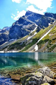 Kościelec - Tatry Bratislava, Nature Pictures, Cool Pictures, Polish Mountains, Planet Earth Ii, Countries Europe, Forest Waterfall, Tatra Mountains, Hill Station