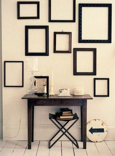 I can see something like this on the huge wall in the entryway.