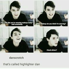 "did someone really make their user ""danscrotch"" omfg"