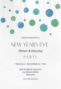 72 best new year s eve invitations template images on pinterest in