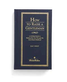 For the nursery - How To Raise A Gentleman - Brooks Brothers