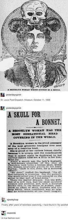 St. Louis Post-Dispatch, Missouri, October 11, 1896. http://leftboob-enthusiast.tumblr.com/post/150304528183/mszombi-spookyloop-yesterdaysprint