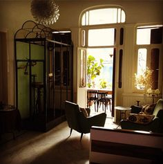 The tiny (four rooms) but stylish and cozy Hayete Guesthouse, Beirut - pic from 2:48AM blog